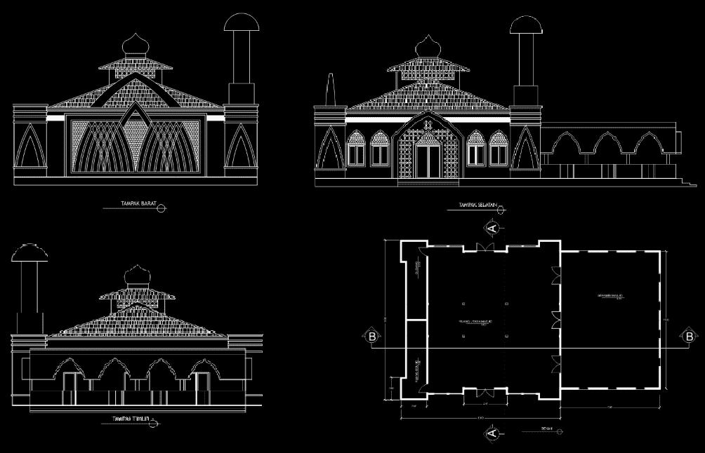 gambar masjid an nur