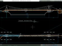 jembatan gantung pipa