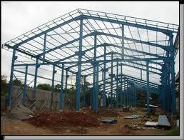 konstruksi rumah dari baja