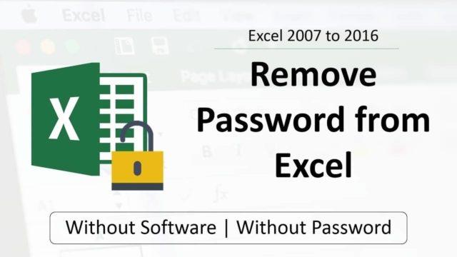 menghapus password workbook ms excel