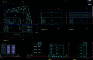 gudang 4 lantai luas bangunan 612m2