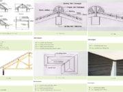 menghitung volume pekerjaan atap