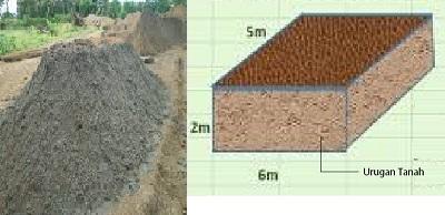 urugan pasir dan urugan tanah