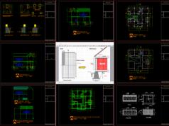 gambar struktur rumah 2 lantai type 2