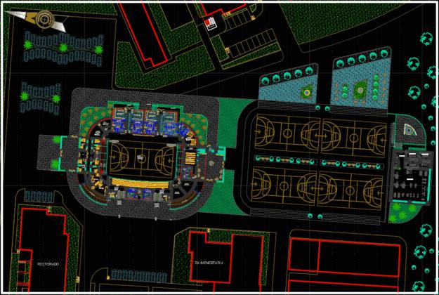 siteplan colosseum