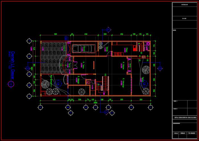 Download Gambar Rumah Minimalis 2 Lantai Ukuran 10x20 Meter Dwg Autocad Asdar Id