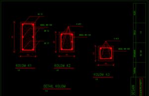 detail kolom
