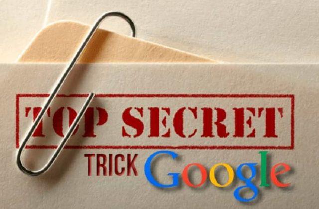 fitur tersebunyi google