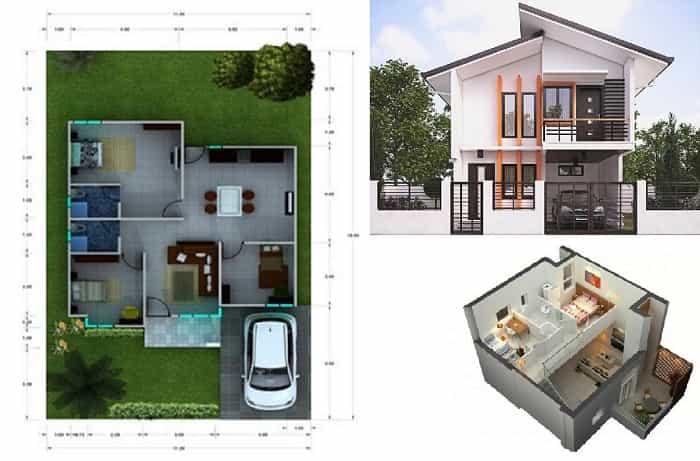 Contoh Desain Rumah Kecil Minimalis Terbaik 2020 Asdar Id