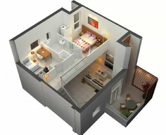 rumah kecil minimalis