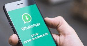 mematikan fitur auto download di whatsapp