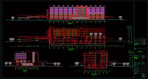 gambar kerja rumah sakit