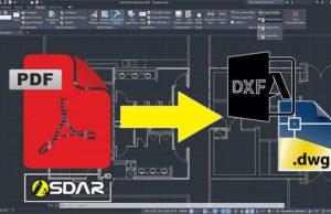 convert pdf ke dxf dwg autocad