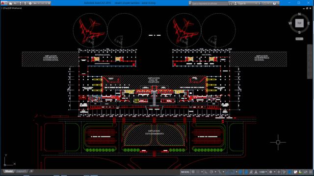 desain proyek bandara