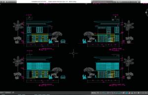 desain rumah minimalis type 144
