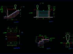 detail tangga teras