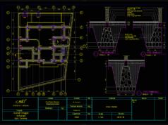 gambar kerja rencana pondasi rumah