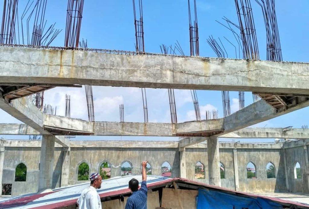balok beton betulang