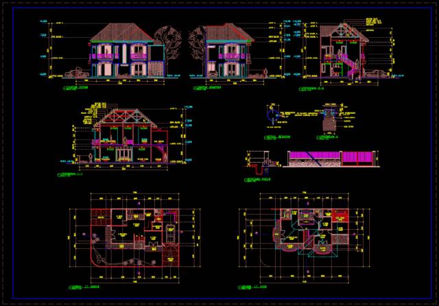 rumah prarencana 2 lantai