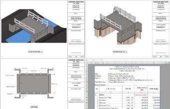 desain dan rab jembatan beton bertulang ta 2020