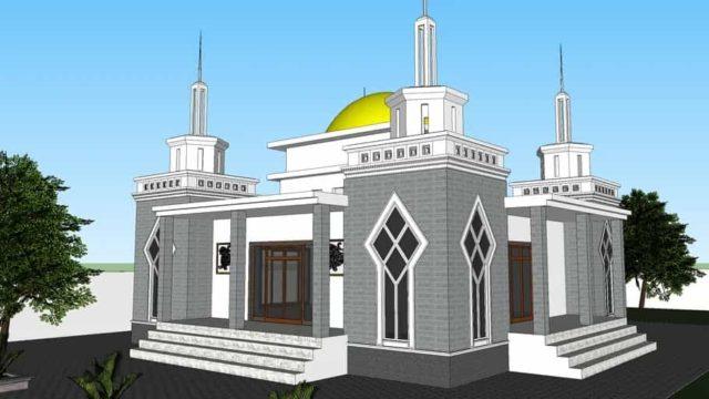 masjid minimalis skp