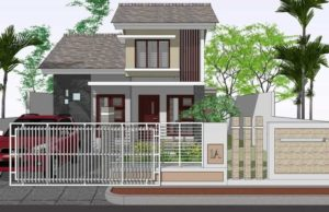 rumah minimalis 2 lantai type 36 skp
