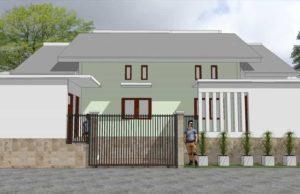 rumah sederhana ukuran 45 m2 skp