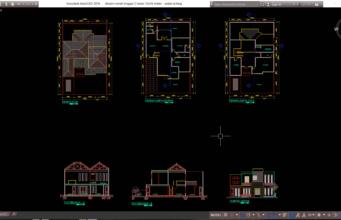 desain rumah tinggal 2 lantai 12x16 meter