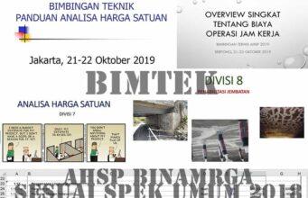 bimtek ahsp makassar oktober 2019