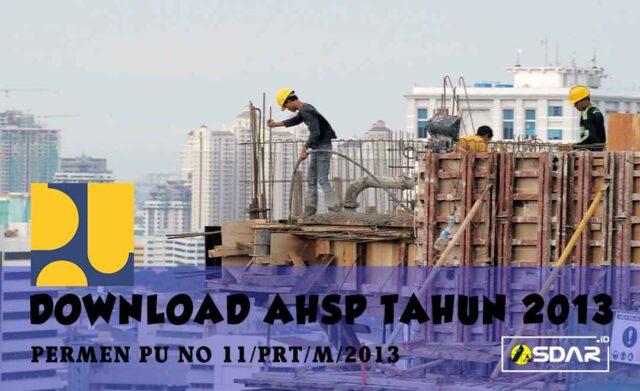 ahsp 2013 bidang pekerjaan umum