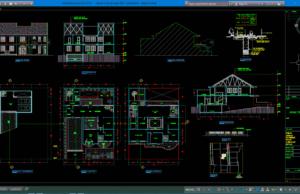 rumah 2 lantai type 228 + basement