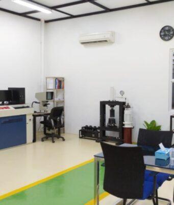 laboratorium uji material pt detech