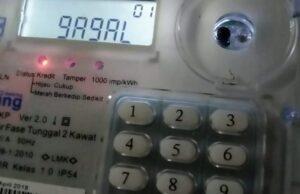token listrik gagal di isi